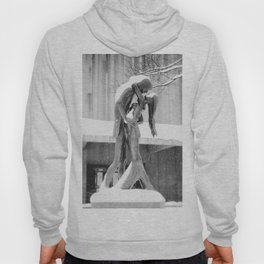 Winter Kiss - Central Park - New York City Hoody