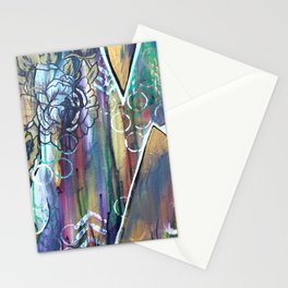 Gold Mountain Rose Stationery Cards