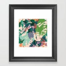 Calladium Framed Art Print