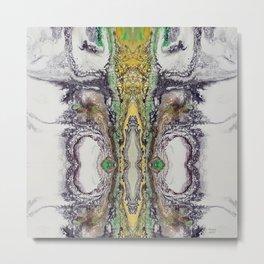 Weather cyclone, acrylic on canvas Metal Print