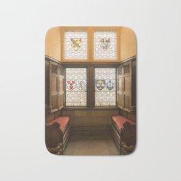 Edinburgh castle stained glass windows Scotland Bath Mat