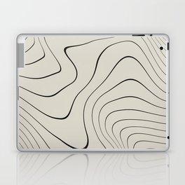 Line Distortion #2 Laptop & iPad Skin