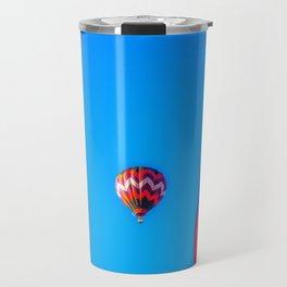 Flying Away hot air balloons Travel Mug