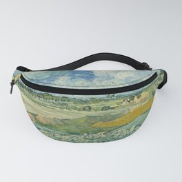 Plain at Auvers with rain clouds Fanny Pack