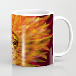 Flaming Skull 3 Coffee Mug