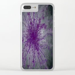 The Heart's Tears Clear iPhone Case