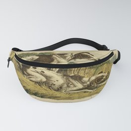 Ackermann's Repository of Arts (1809) - Pointers Fanny Pack