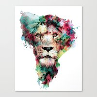 king Canvas Prints featuring THE KING by RIZA PEKER