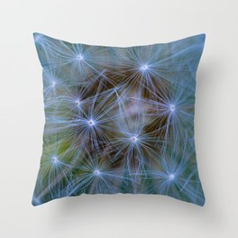 Just Blow and make a wish Throw Pillow