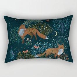 Forest Foxes Rectangular Pillow