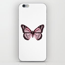 Monarch Butterfly Pink Dream iPhone Skin