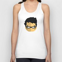 nightwing Tank Tops featuring Nightwing by Oblivion Creative