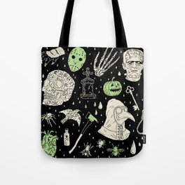 Whole Lot More Horror: BLK Ed. Tote Bag