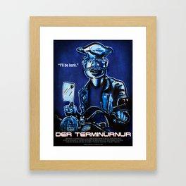 Der Terminurnur Framed Art Print