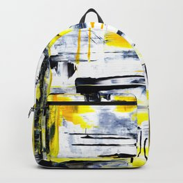Bumble Bee Abstraction Backpack