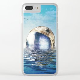 Flooded Clear iPhone Case