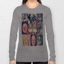 RETRO LUCY COLLAGE Long Sleeve T-shirt