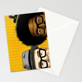 """""""Wise Up Ghost"""" by Dmitri Jackson Stationery Cards"""