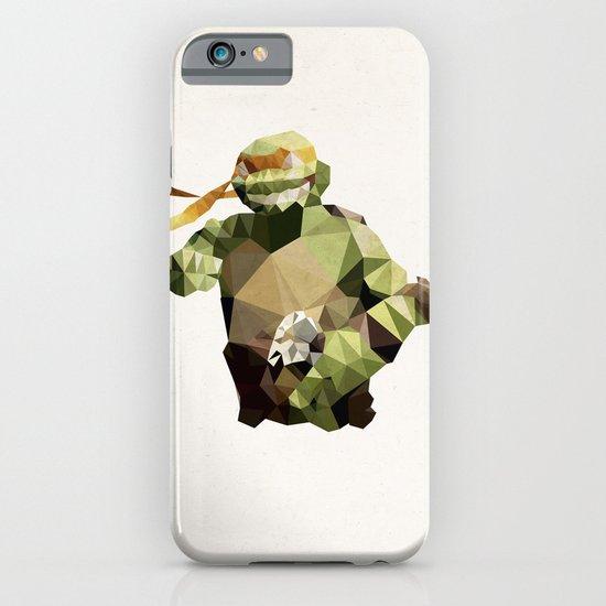 Polygon Heroes - Michelangelo iPhone & iPod Case
