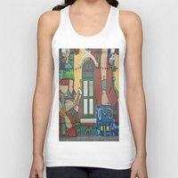 arab Tank Tops featuring The Streets by CforCel