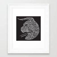 taurus Framed Art Prints featuring Taurus by freebornline