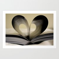 Book of Love Art Print