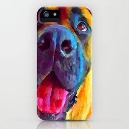 English Mastiff iPhone Case