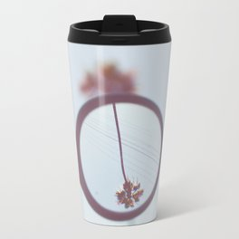 Palm Tree Magnified  Travel Mug
