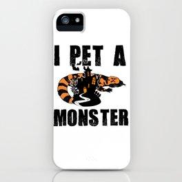 Gila Monster Halloween Venomous Lizard Pet Owner Light iPhone Case