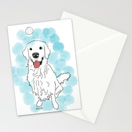 Golden Ball Stationery Cards