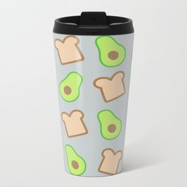Avocado Toast Metal Travel Mug
