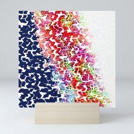 Shape Slide Left Mini Art Print