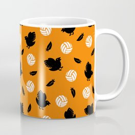 Volley Crows! Coffee Mug