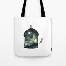 Blankets of the Sky Tote Bag