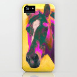 Horse, Wild iPhone Case