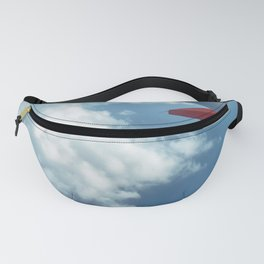 Clouds over the Med Fanny Pack