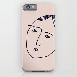 always suspicious iPhone Case