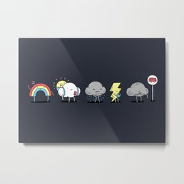 There's always rainbow after the rain Metal Print