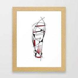 Abskatebt Framed Art Print