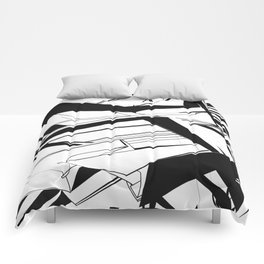 History of Art in Black and White. Futurism Comforters