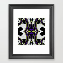 Tribal Spin Abstract Collection II Framed Art Print