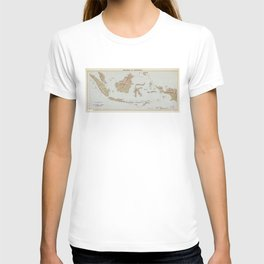 Republic of Indonesia Map (1957) T-shirt