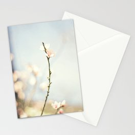 jutting bloom Stationery Cards