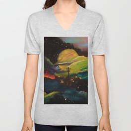 Galaxy Discing Unisex V-Neck