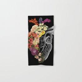 Flower Heart Spring Hand & Bath Towel