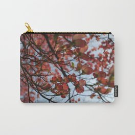Pink Dogwood Carry-All Pouch