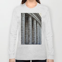 Vatican City Marble Long Sleeve T-shirt