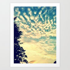 AfternoonSky Art Print