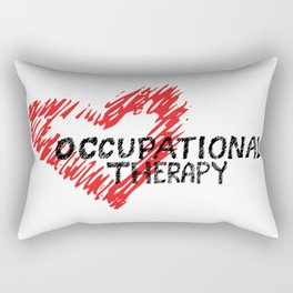 Occupational Therapy Love Rectangular Pillow