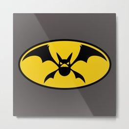 BatCrobat Metal Print